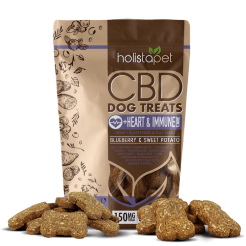 Holistapet Dog Treats +Heart & Immune Care Review
