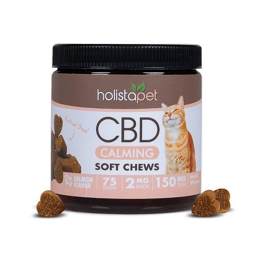 Holistapet CBD Calming Chews For Cats Review