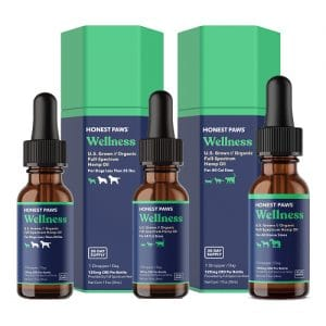 Honest Paws Wellness CBD Oil for Dogs, Cats, and Horses Review