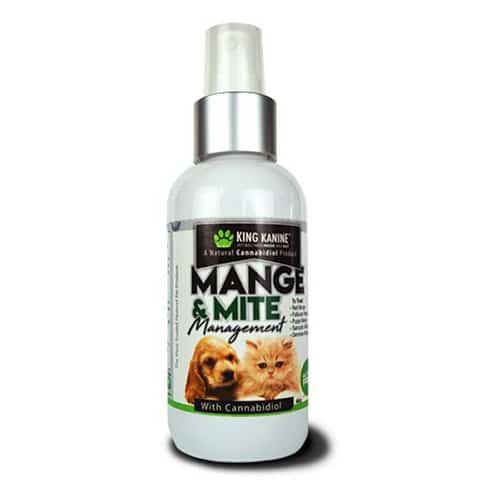 KING KALM CBD Mange & Mite Management Spray