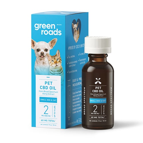 Green Roads - Best CBD Oil for Cats Review