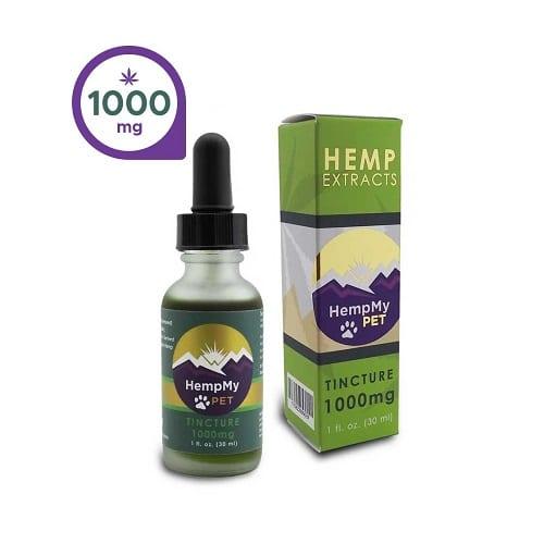 HempMy Pet CBD Oil - 1000mg CBD Review