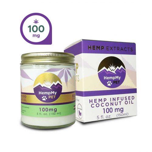 HempMy Pet Coconut Oil-100mg CBD