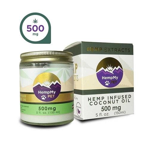 HempMy Pet Hemp Infused Coconut Oil - 500mg CBD Review