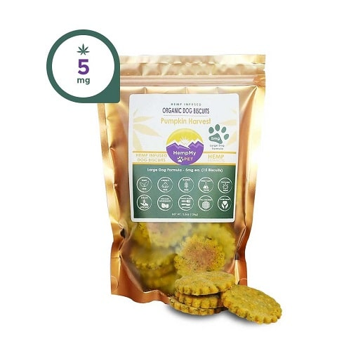 HempMy Pet Organic Dog Biscuits for Large Dogs Review