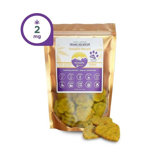 HempMy Pet Organic Dog Biscuits for Small Dogs Review