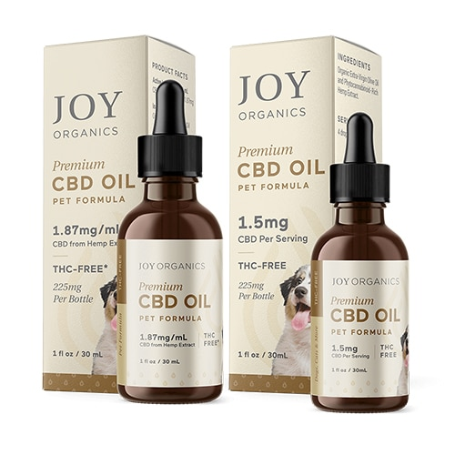Joy Organics CBD Oil for Pets Review