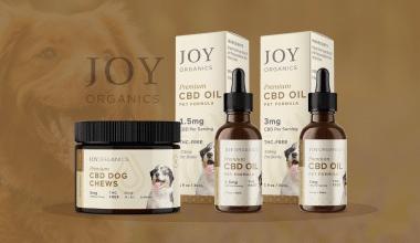 Joy Organics Pet CBD Review - Featured Image