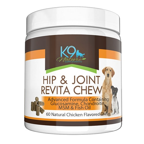 K9 Nature Supplements Hip and Joint Revita Chews Review