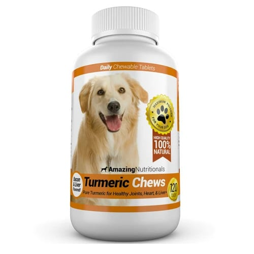 Amazing-Nutritionals-Turmeric-Chews-for-Dogs-Review