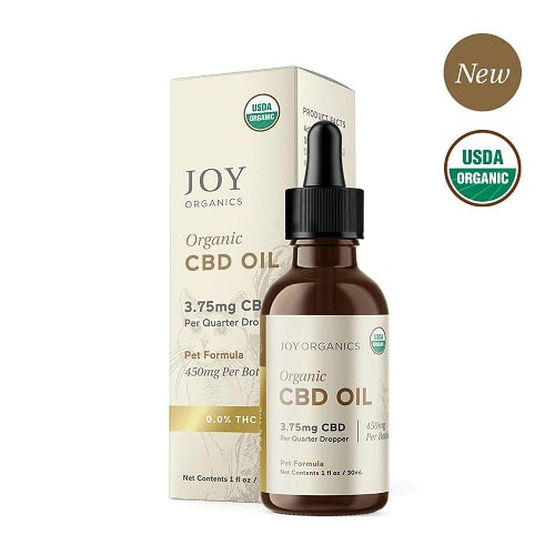Joy Organics CBd Oil for Dogs Review