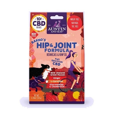 Best Glucosamine for Dogs - Austin and Kat CBD Dog Biscuits with Glucosamine Review
