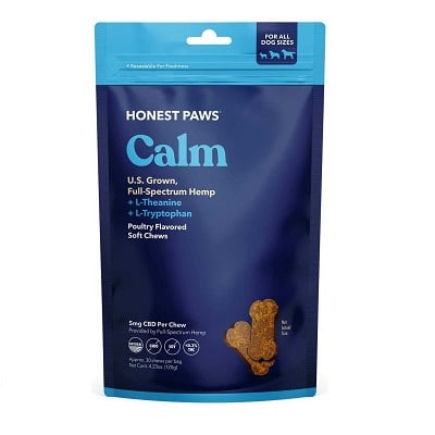 Best Glucosamine for Dogs - Honest Paws CBD Soft Chews Review