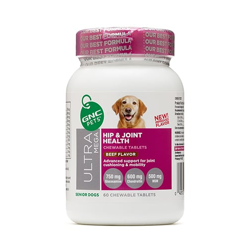 GNC Pets Ultra Mega Hip & Joint Health Review1