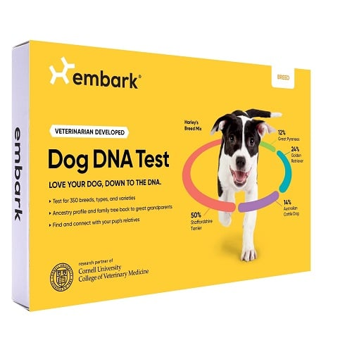 Embark Reviews - Embark Dog DNA Test Breed Identification Kit Review