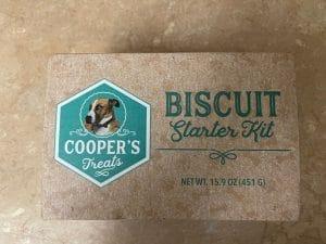 Cooper's Treats Biscuit Starter Kit Box